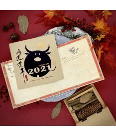 2021牛年賀年卡 鴻運連年 #3014