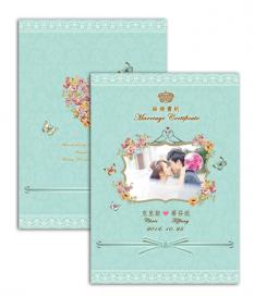 客製結婚書約 M01