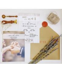 美式明信片婚卡 M4617(彩印版)