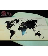 客製愛的地圖x登機證機票型婚卡 P12001